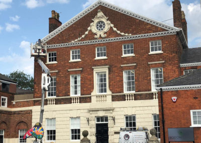 Bird proofing of grade 1 listed building