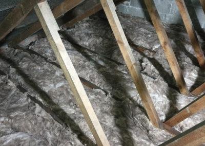Loft insulation renewal